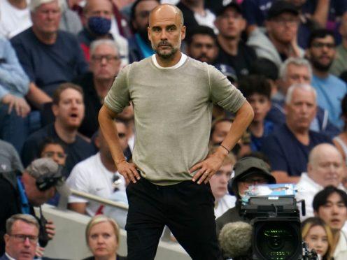 Pep Guardiola has defended his comments about Manchester City attendances (Nick Potts/PA)