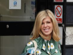 Kate Garraway arriving at Global Radio in London (Ian West/PA)