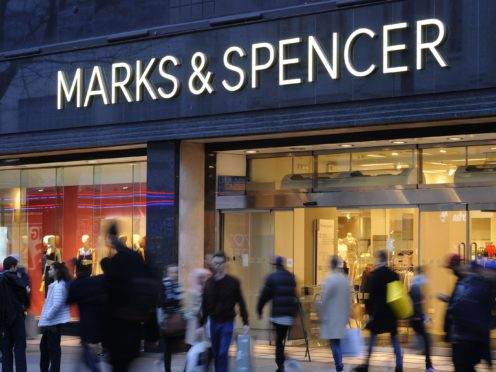 Retail giant Marks & Spencer has said it will close 11 of its stores in France due to fresh and chilled food supply issues following Brexit (Charlotte Ball/PA)