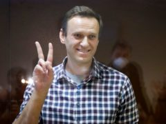 Google and Facebook are under pressure to remove an app promoted by Russian opposition leader Alexei Navalny (AP Photo/Alexander Zemlianichenko, file)