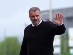 Celtic manager Ange Postecoglou pleased with transfer window (Andrew Milligan/PA)