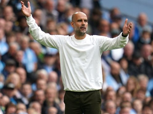 Manchester City manager Pep Guardiola has refused to apologise for recent comments about attendances (Nick Potts/PA)