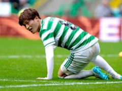 Injury blow for Celtic's Kyogo Furuhashi (Andrew Milligan/PA)