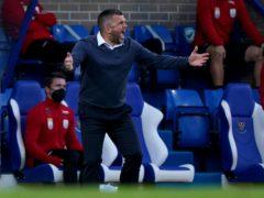 Callum Davidson praised his St Johnstone players despite defeat by Rangers (Andrew Milligan/PA)