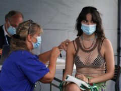 There is a fresh drive to get 16 to 17-year-olds to get a Covid-19 jab (Kirsty O'Connor/PA)