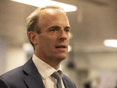 Foreign Secretary Dominic Raab (Jeff Gilbert/Daily Telegraph)