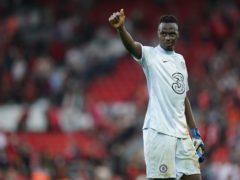 Edouard Mendy missed Chelsea's win at Tottenham (Mike Egerton/PA)