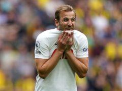 Harry Kane has yet to score in this season's Premier League (Mike Egerton/PA)