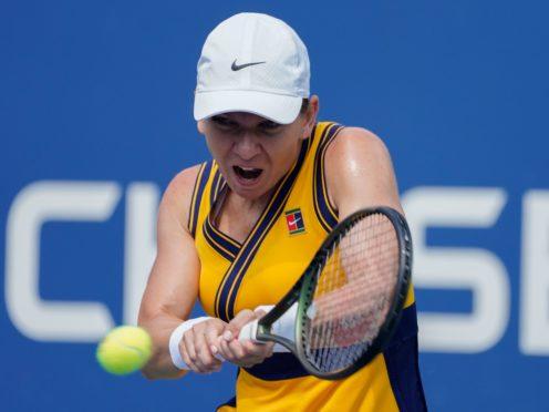 Simona Halep reached round three of the US Open (John Minchillo/AP)