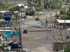 The aftermath of Hurricane Ida in Grand Isle, Louisiana (Gerald Herbert/AP)