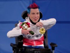 Great Britain's David Smith retained his boccia BC1 title at the Tokyo Paralympics (Tim Goode/PA)
