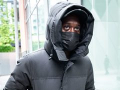 Manchester United defender Aaron Wan-Bissaka leaving Manchester Magistrates Court (Danny Lawson/PA)
