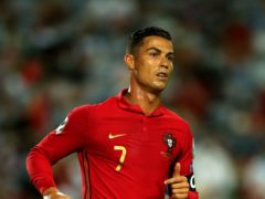 Cristiano Ronaldo has been released from the Portugal squad as he prepares to serve a one-match ban (Isabel Infantes/PA)