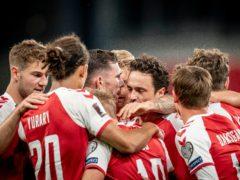 Denmark eased to victory (Mads Claus Rasmussen/Ritzau Scanpix via AP)