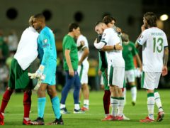 The Republic of Ireland came within a minute of a famous World Cup qualifier victory in Portugal on Wednesday night (Isabel Infantes/PA)