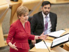 Nicola Sturgeon set out the proposal earlier this week (Jane Barlow/PA)