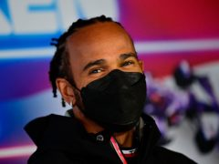 Lewis Hamilton is set to have a new team-mate at Mercedes next year (Andrej Isakovic/AP).