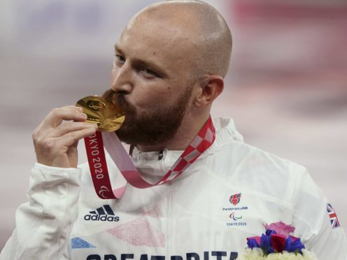 Javelin thrower Dan Pembroke claimed gold in Tokyo (imagecommsralympicsGB/PA)