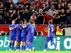 England overcame a hostile atmosphere in Hungary (Attila Trenka/PA)