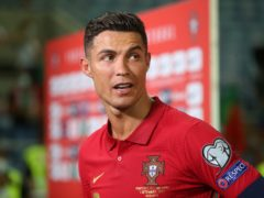 Cristiano Ronaldo will play some part of Manchester United's game against Newcastle (PA)