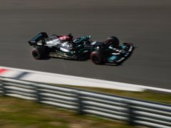 Hamilton will be short of laps ahead of the Dutch Grand Prix (AP Photo/Francisco Seco)