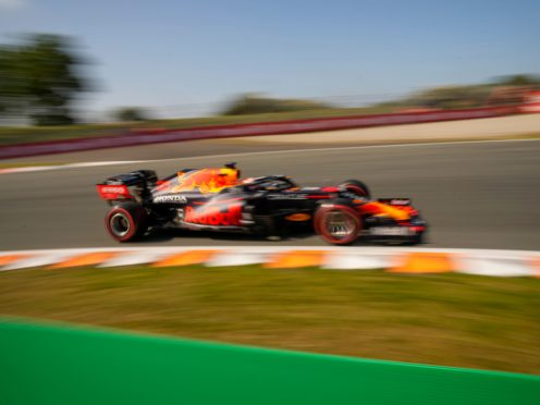 Verstappen delighted his home fans by taking pole (AP Photo/Francisco Seco)
