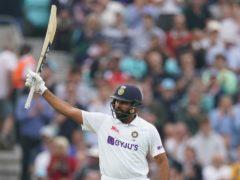 Rohit Sharma got a century for India (Adam Davy/PA)