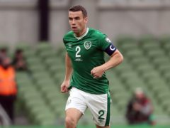 Republic of Ireland skipper Seamus Coleman is out of the World Cup qualifier against Serbia through injury (Niall Carson/PA)