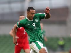 Republic of Ireland striker Adam Idah is refusing to give up on his World Cup dream (Niall Carson/PA)