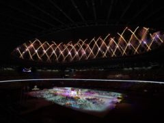 Fireworks mark the close of Tokyo 2020 (Tim Goode/PA)