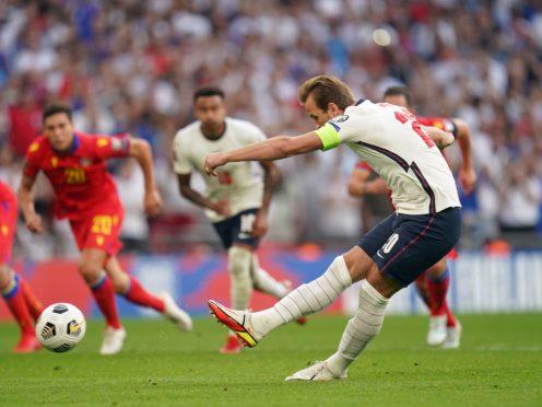 Harry Kane scores against Andorra (Nick Potts/PA)