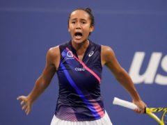 Leylah Fernandez's US Open journey continued after beating Angelique Kerber (John Minchillo/AP)