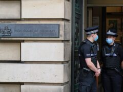 Children will be able to give evidence at High Court trials with pre-recorded interviews (Andrew Milligan/PA)