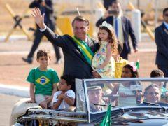 Brazilian president Jair Bolsonaro (AP)
