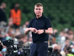 Republic of Ireland manager Stephen Kenny saw his side fight back to snatch a 1-1 World Cup qualifier draw with Serbia (Niall Carson/PA)