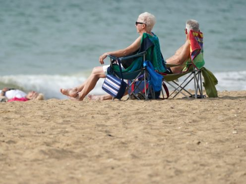 The Government has announced a relaxation of international travel rules (Andrew Matthews/PA)
