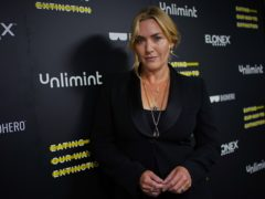 Kate Winslet attending the world premiere of the documentary, Eating Our Way To Extinction (Yui Mok/PA)