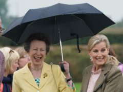The Princess Royal (left) and the Countess of Wessex (Owen Humphreys/PA)