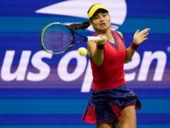 Emma Raducanu took the US Open by storm on debut (Elise Amendola/AP)