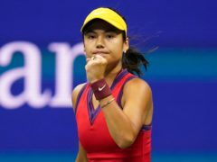 Viewers will be able to watch Emma Raducanu in the US Open final on Channel 4 (Frank Franklin II/AP)