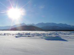 Lake Baikal, where Greg Bower will take on an epic expedition (Greg Bower/PA)