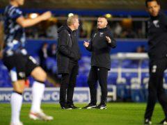 Wayne Rooney's side were beaten at Birmingham (Nick Potts/PA)