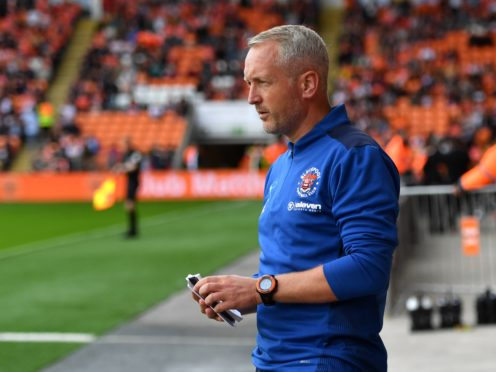 Blackpool manager Neil Critchley was left bemused by his side's loss to Huddersfield (Anthony Devlin/PA)