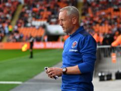 Blackpool manager Neil Critchley was relieved to see the pressure lifted with a win over Fulham (Anthony Devlin/PA)