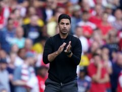 Arsenal manager Mikel Arteta is pleased with the way his side is working as one (Tess Derry/PA)