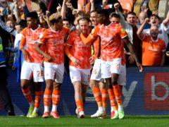 Josh Bowler scored the winner as Blackpool beat Fulham (Anthony Devlin/PA)