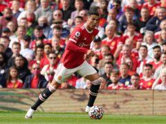 Cristiano Ronaldo helped fire up Old Trafford (Martin Rickett/PA)