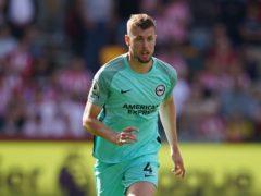 Brighton's Adam Webster suffered a hamstring injury against Brentford last weekend (Dominic Lipinski/PA)
