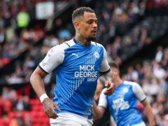 Jonson Clarke-Harris faces a four-game ban (Isaac Parkin/PA)