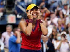 Emma Raducanu claimed a straight-sets win (Elise Amendola.AP)